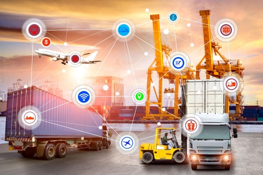 Blockchain in logistiek
